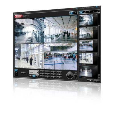 Kameraovervågning erhverv skærmbillede