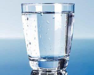 Vandglas rent vand