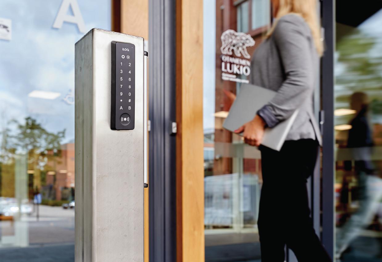 Adgangskontrol iLOQ digital låsesystem S5