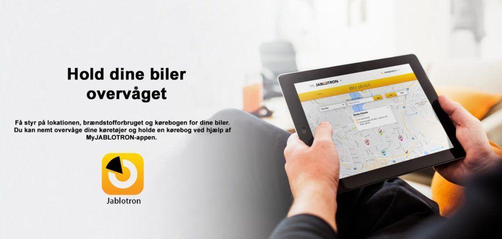 GPS – Bilovervågning – Bilalarm tablet