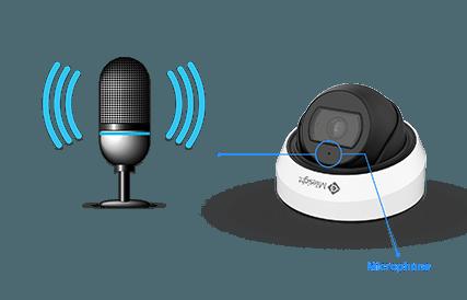 Milesight mini vandal mikrofon